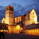 Assisi by night
