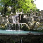Villa Lante Fountain of giants